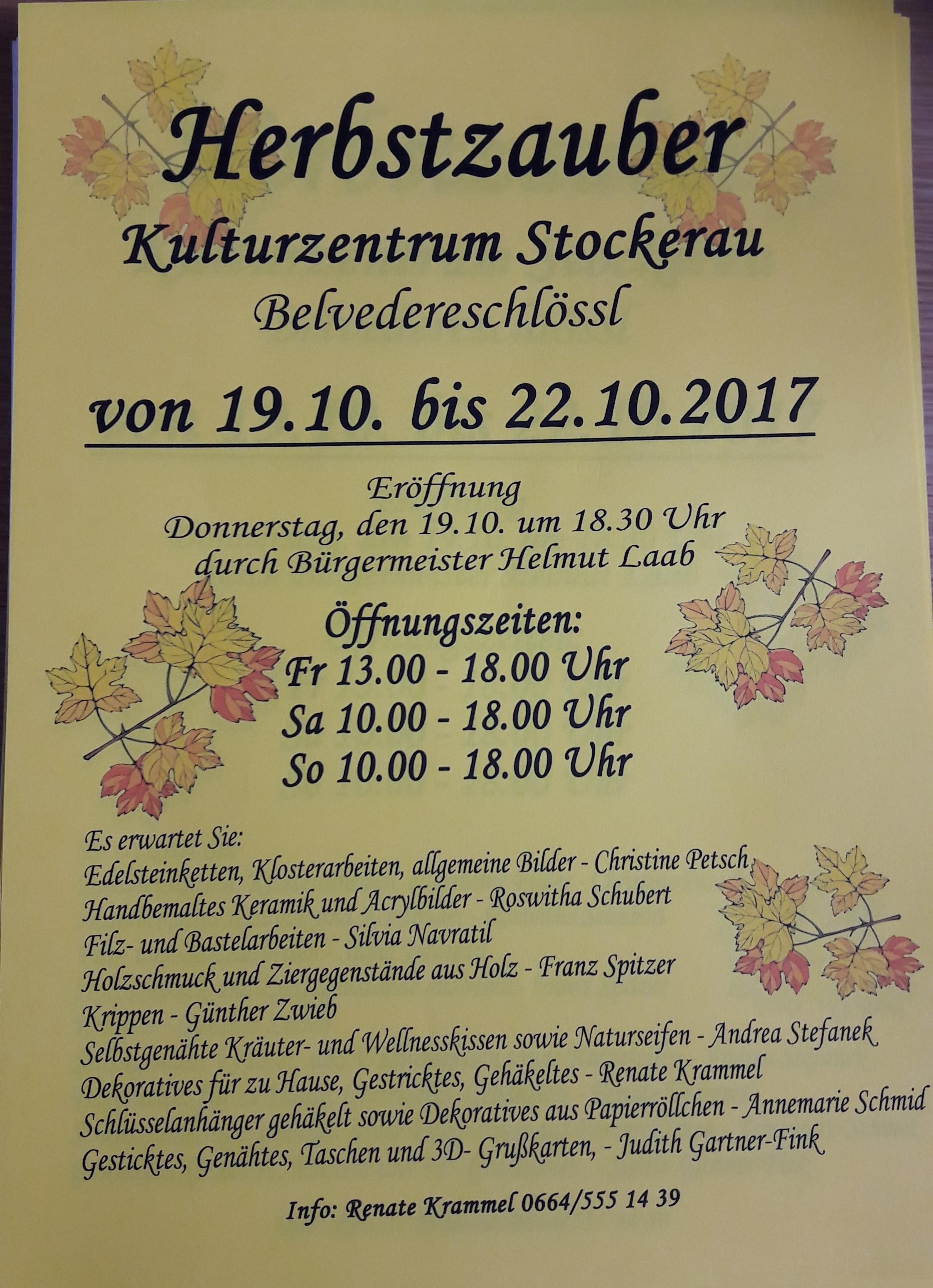 Holzkunst Spitzer und Krippenbau Zwieb beim Herbstzauber 2017