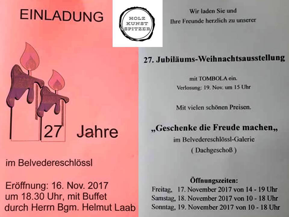 Adventausstellung im Belvedereschlößl