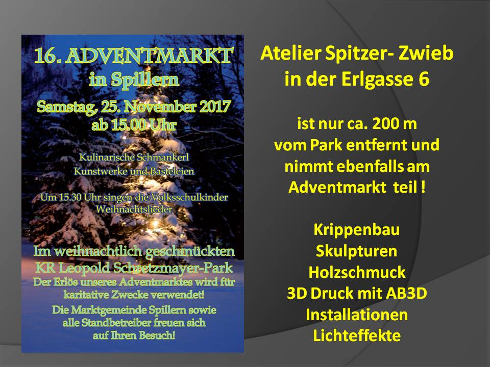 16. Adventmarkt in Spillern